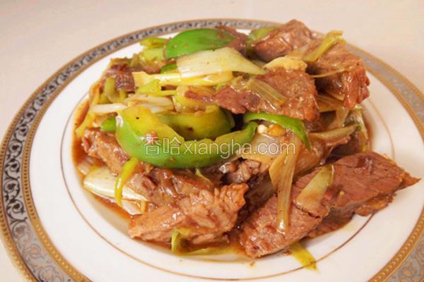 葱香扒肉条