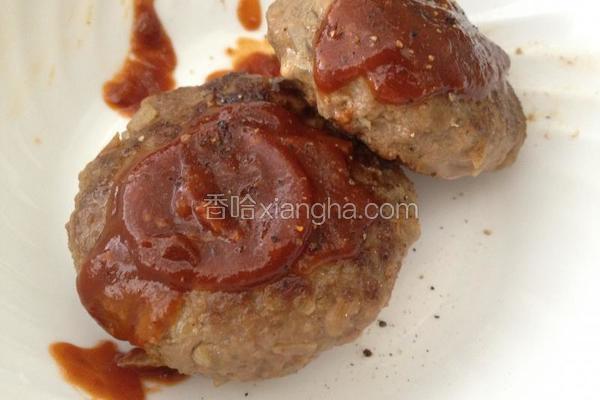 日式汉堡牛肉