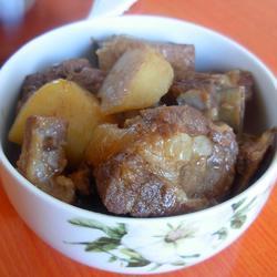 高压锅土豆炖排骨的做法[图]