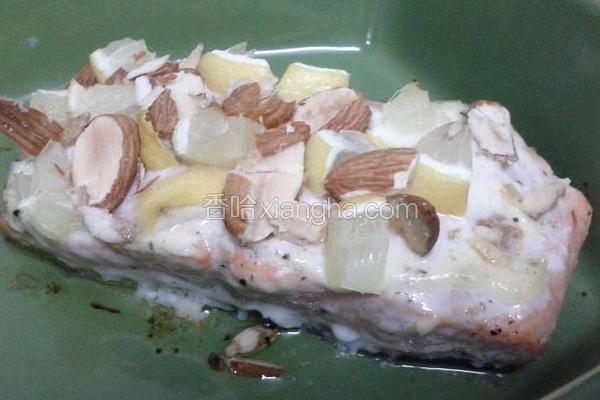 美乃滋烤三文鱼