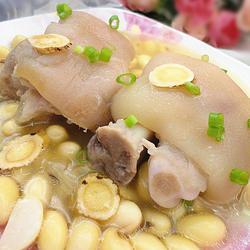 黃芪黃豆煲豬爪的做法[圖]
