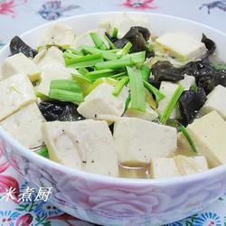 虾皮豆腐汤的做法[图]