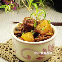 红烧羊肉萝卜的做法[图]