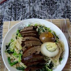 卤鸭肝湿炒粉的做法[图]