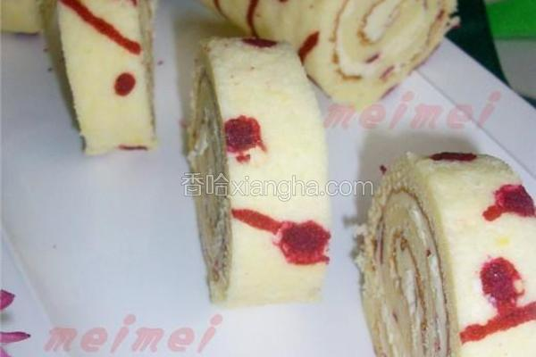 芝士奶油蛋糕卷