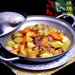 干锅海味烧笋的做法[图]