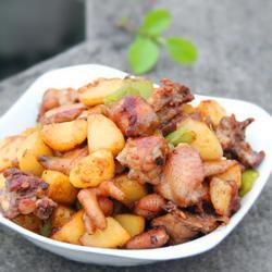 土豆烧鸡的做法[图]