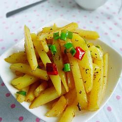 干煸土豆条的做法[图]