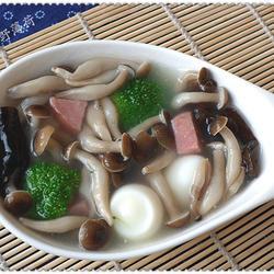 鲜汤蟹味菇的做法[图]
