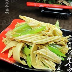 姜汁拌腐竹的做法[图]