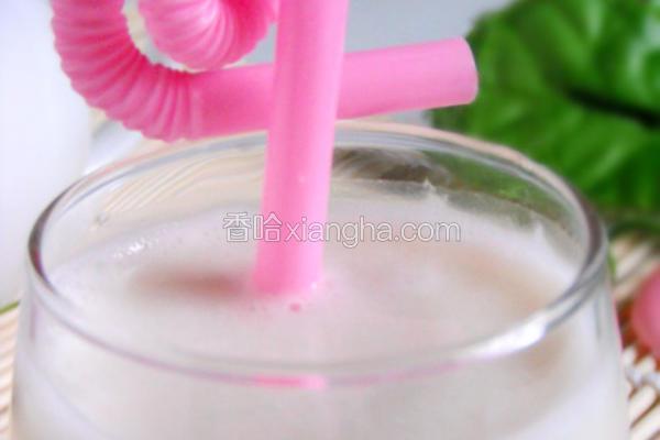 奶香红提蜜汁