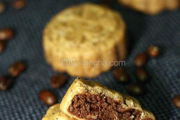 咖啡乳酪月饼