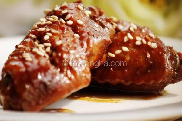 电饭煲焖鸡翅