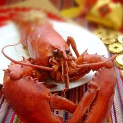 蒜蓉开背蒸龙虾的做法[图]