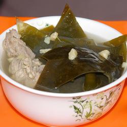 干贝海带排骨汤的做法[图]