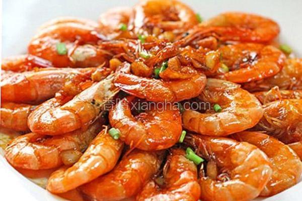 豉油蒜香虾