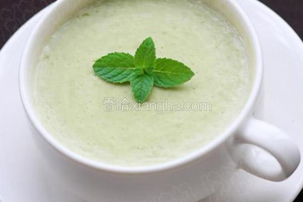 青豆奶油浓汤
