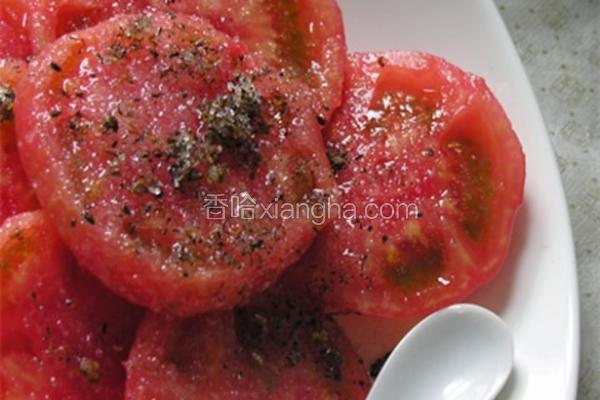 桂花糖拌西红柿