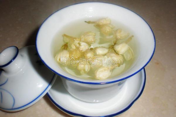 茉莉花蜂蜜茶