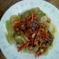 蚝油干贝生菜的做法[图]