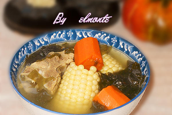 玉米海带汤
