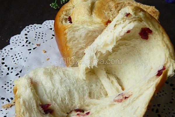 蔓越莓袖珍土司