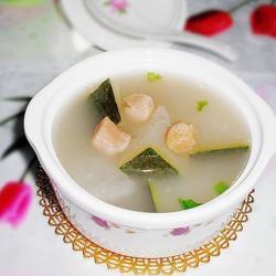干贝冬瓜猪骨汤的做法[图]