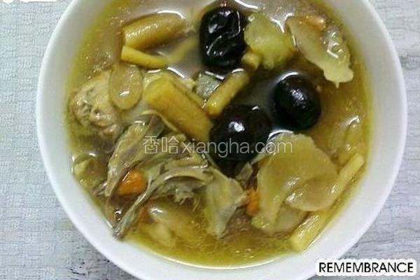 六味煲鸡汤