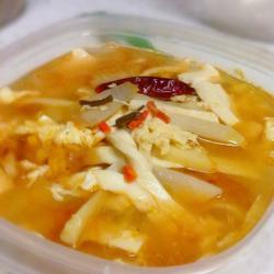 简易酸辣汤的做法[图]