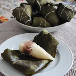 传统红豆沙粽子的做法[图]