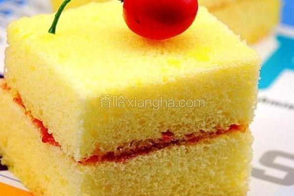 柠檬玉米蛋糕