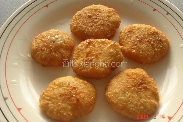 黄米面炸糕