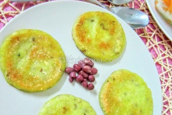 豌豆糯米饼