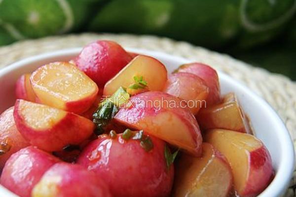 蒜香樱桃萝卜
