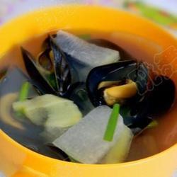 淡菜冬瓜汤的做法[图]