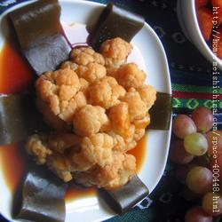 卤菜花海带的做法[图]