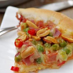 花生培根芝心披萨的做法[图]