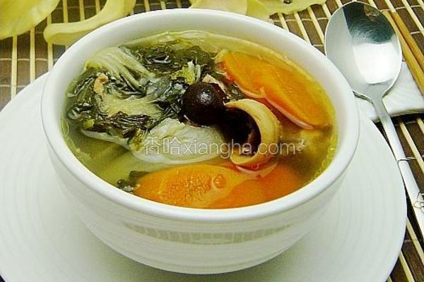 老火清润白菜汤