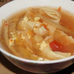 番茄蛋汤的做法[图]