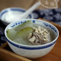 薏米冬瓜排骨汤的做法[图]