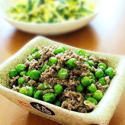 豌豆炒牛肉的做法[图]