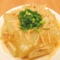 豆瓣酱炒冬瓜的做法[图]