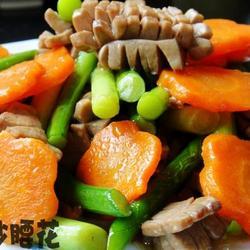 胡萝卜炒腰花的做法[图]