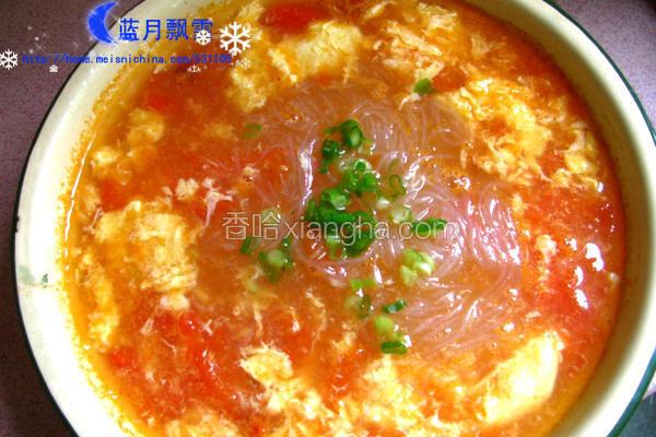 番茄粉丝汤