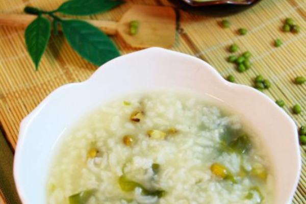 海藻绿豆粥