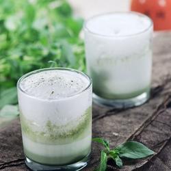 冰抹茶牛奶的做法[图]