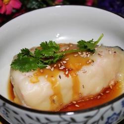 芥末蒸三文鱼的做法[图]