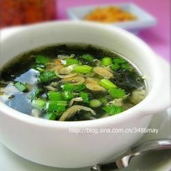 油酥虾皮紫菜汤的做法[图]