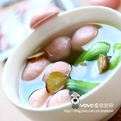 白芷油菜鱼丸汤的做法[图]