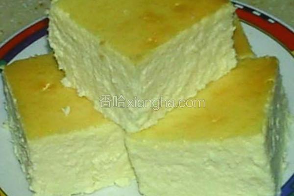 重乳酪蛋糕